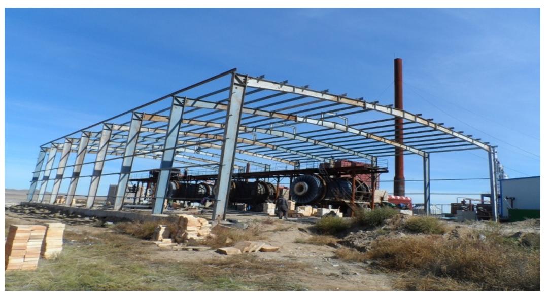 2009 он, Заамар давсны үйлдвэр