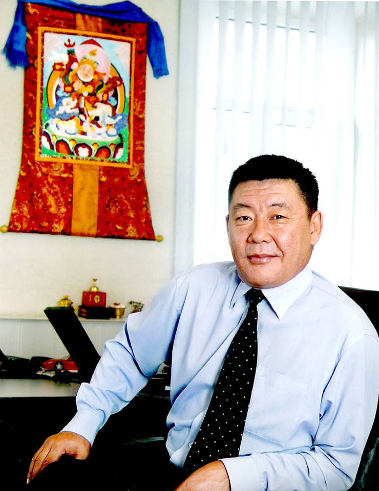Монголын үнэн сонины 100 жилийн ойд зориулсан мэндчилгээ