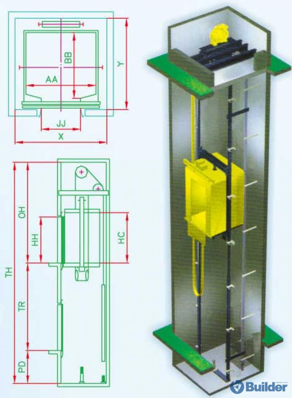 Лифтны төмөр хийц