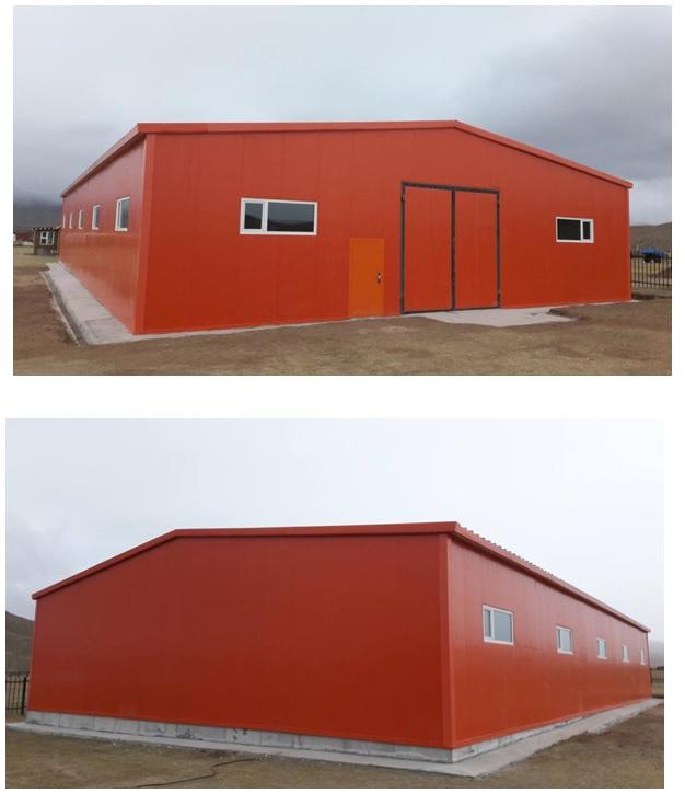 2017 он Монголын улаан загалмайн нийгэмлэгийн хүүхдийн заслангийн агуулахын барилга